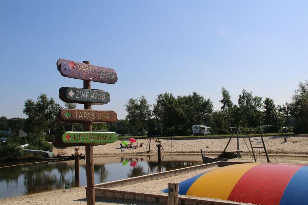 Camping Slagharen dichtbij het attractiepark - Camping Slagharen
