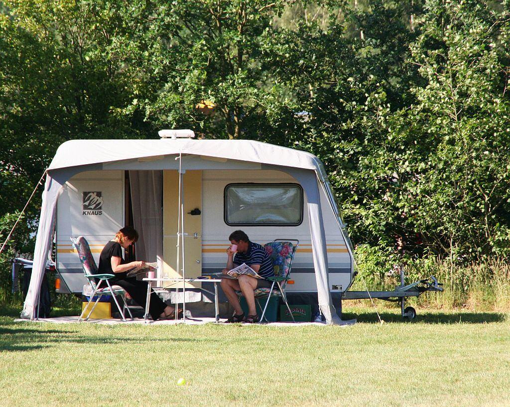 Camping seizoenplaatsen op ANWB 5 sterren camping - Camping seizoenplaatsen