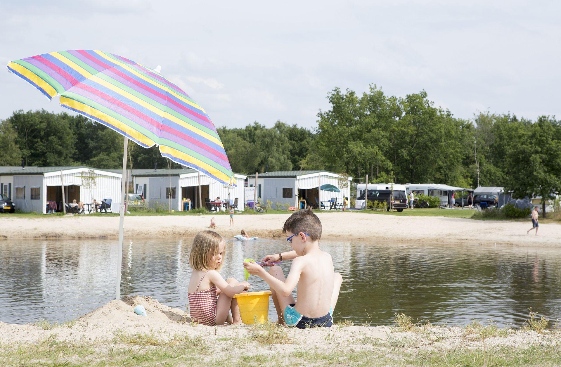 Strandvakantie in Overijssel op een 5 sterren camping - Strandvakantie in Overijssel