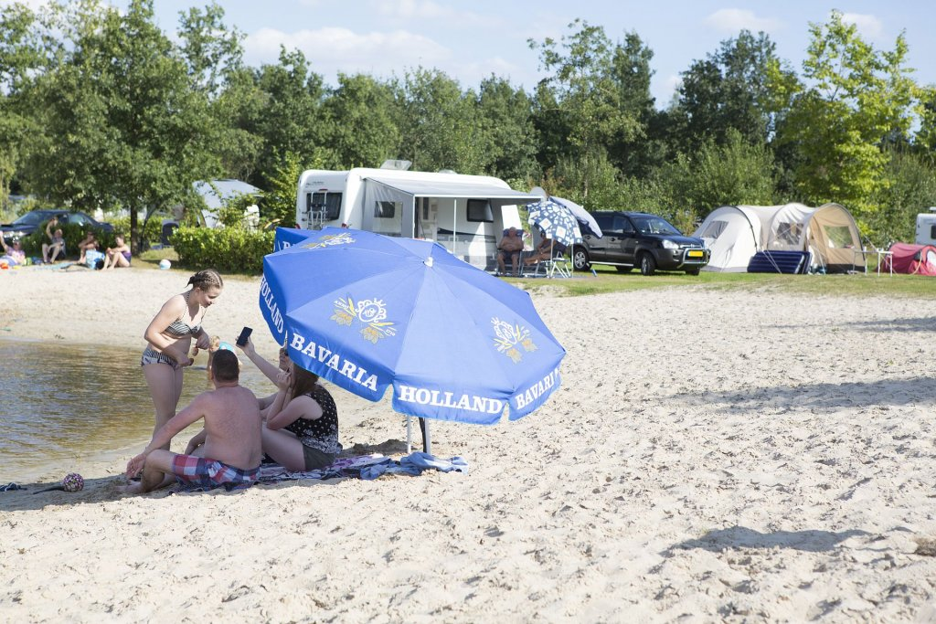 Zandstranden op camping - Zandstranden op camping