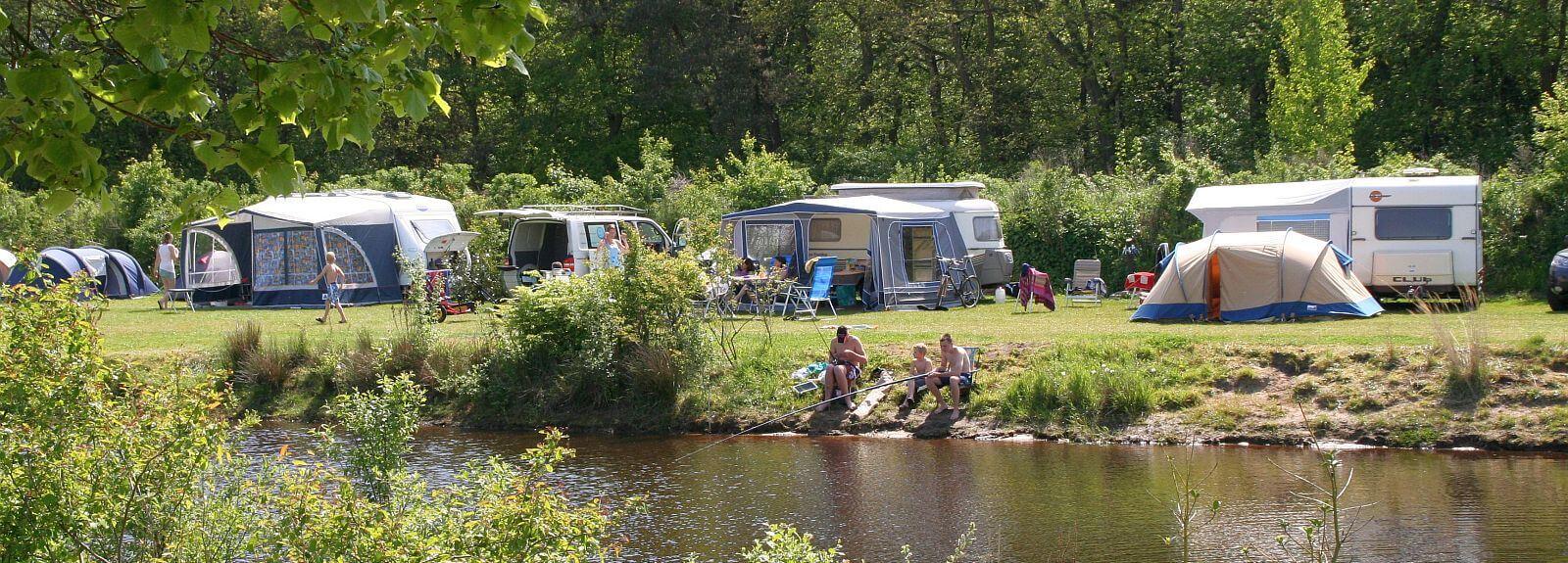 Camping met visvijver - Camping met visvijver
