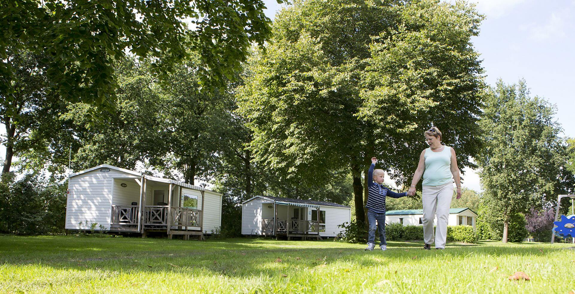 Chalet plaatsen in Overijssel met veel voorzieningen.
