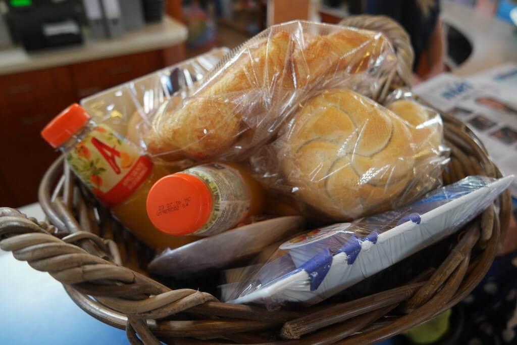 Extra bij te boeken voor een compleet verblijf - Extra bij te boeken Ontbijtmand