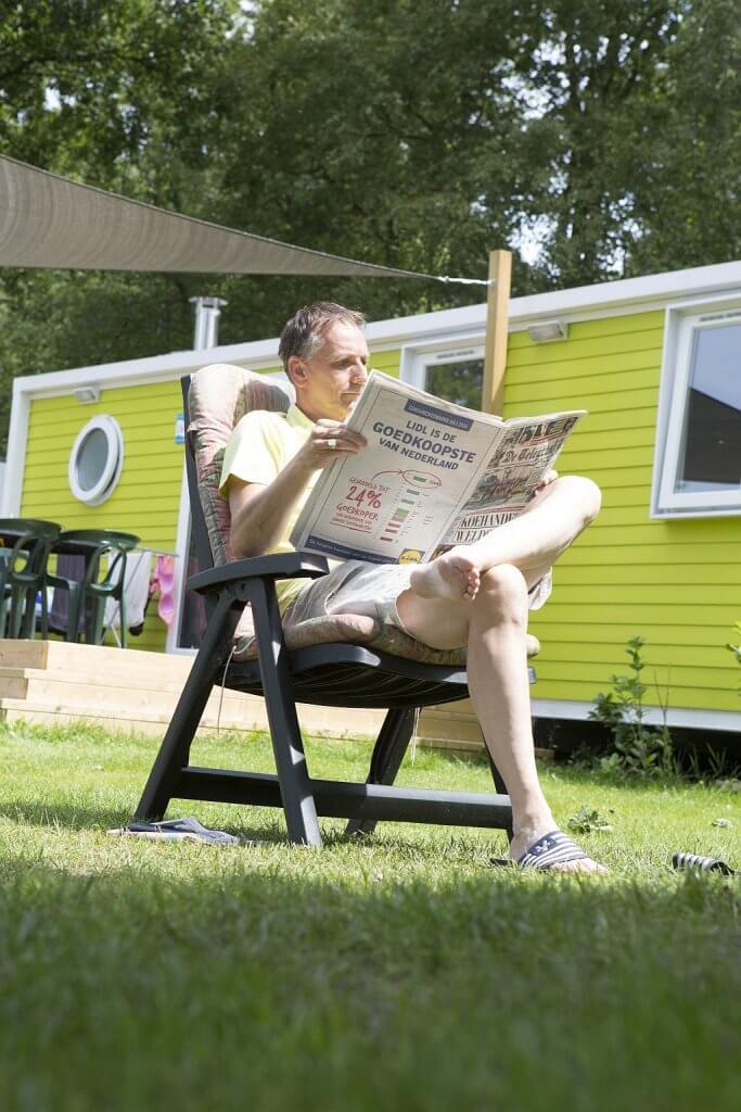 Juni maand kamperen op 5 sterren camping - juni maand