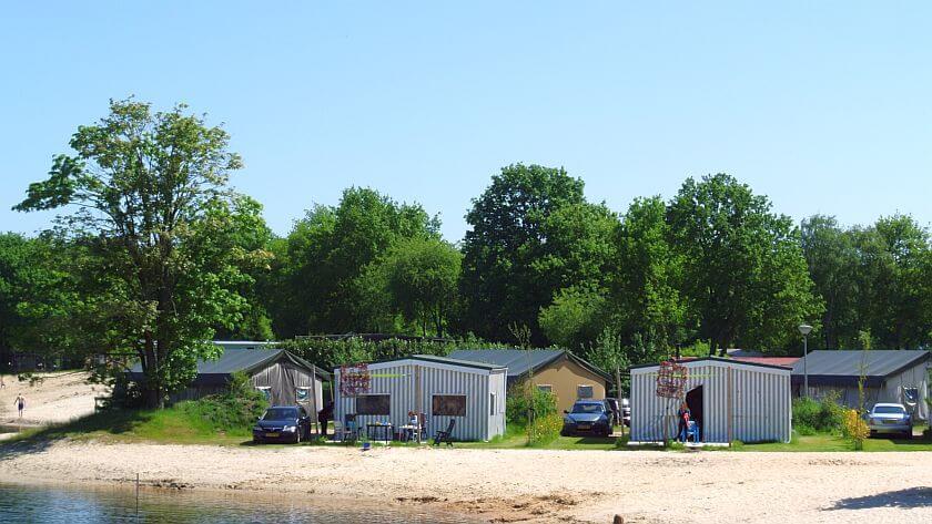 Kampeertent huren in augustus op Vakantiepark het Stoetenslagh - kampeertent huren in augustus