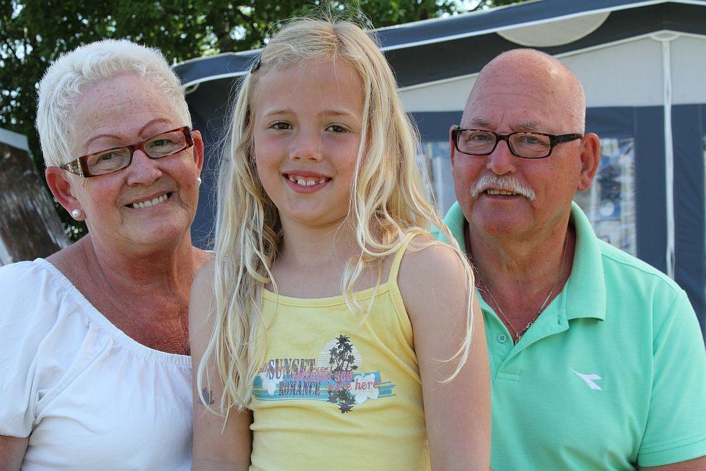 Opa en oma arrangement, heerlijk met de kleinkinderen op vakantie!