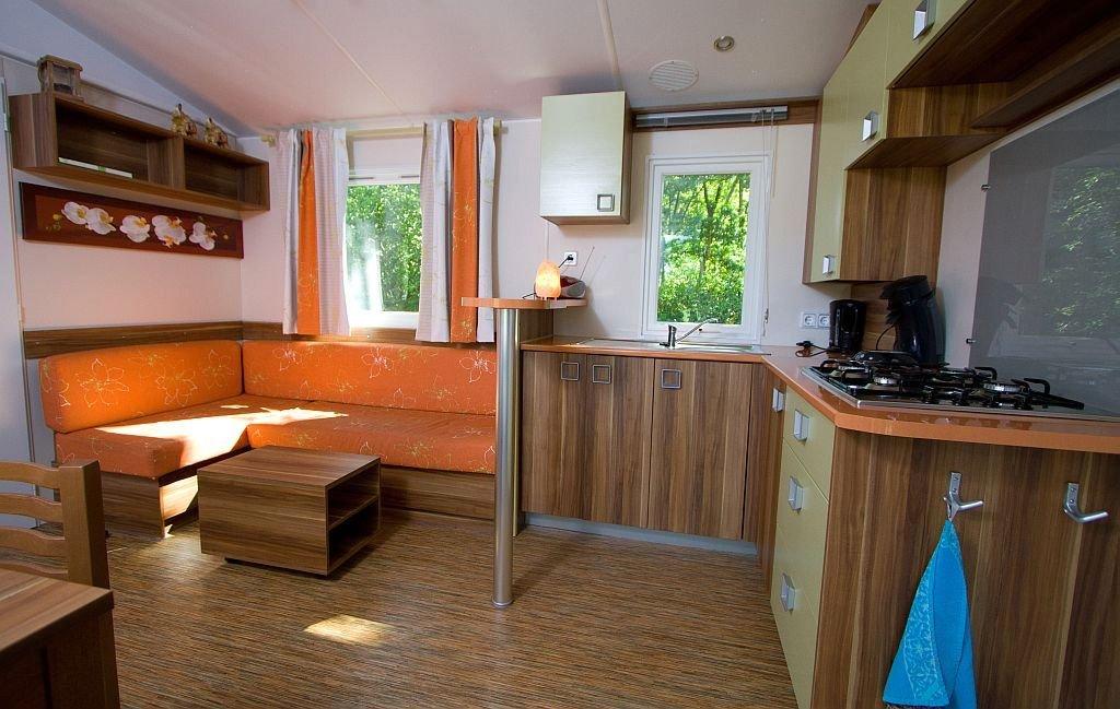 Chalet basic plus met iets ruimere woonkamer - Chalet basic plus