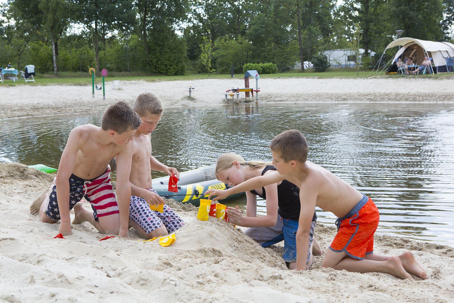 Kindvriendelijke 5 sterren camping in het Vechtdal Overijssel