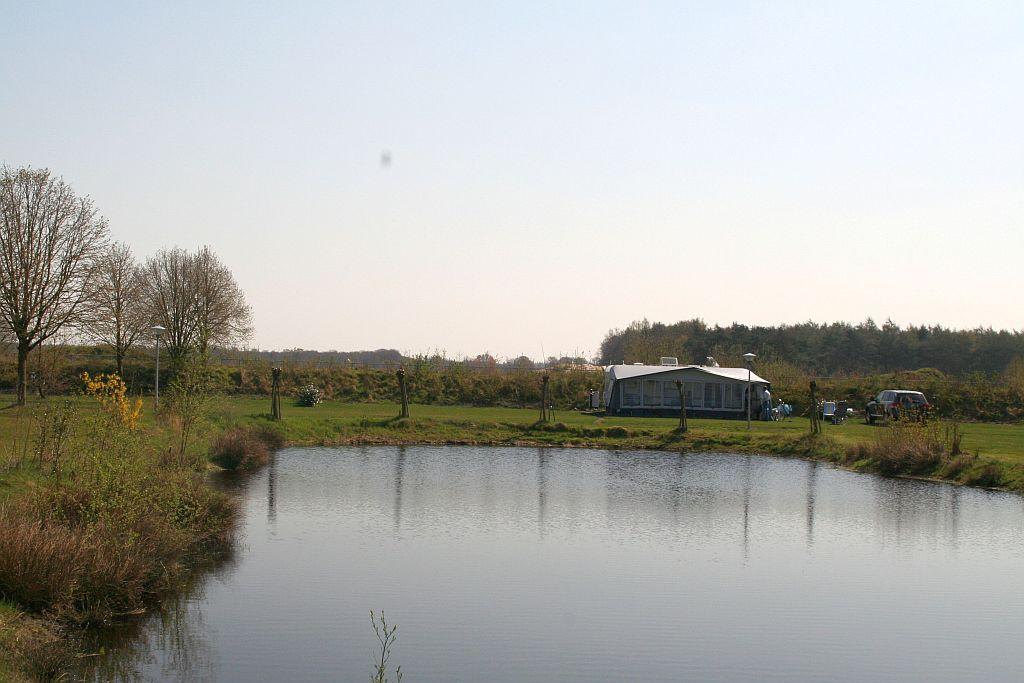Visvijver op Vakantiepark het Stoetenslagh -