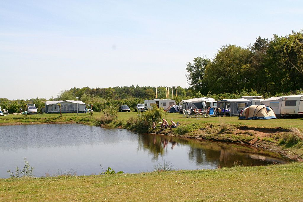 Visvijver op Vakantiepark het Stoetenslagh - Visvijver