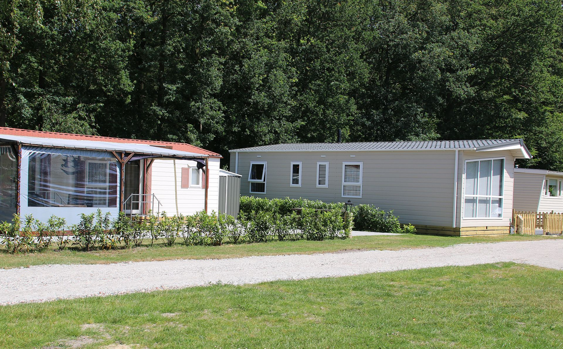 Vaste plaats camping op vijf sterren camping - vaste plaats camping