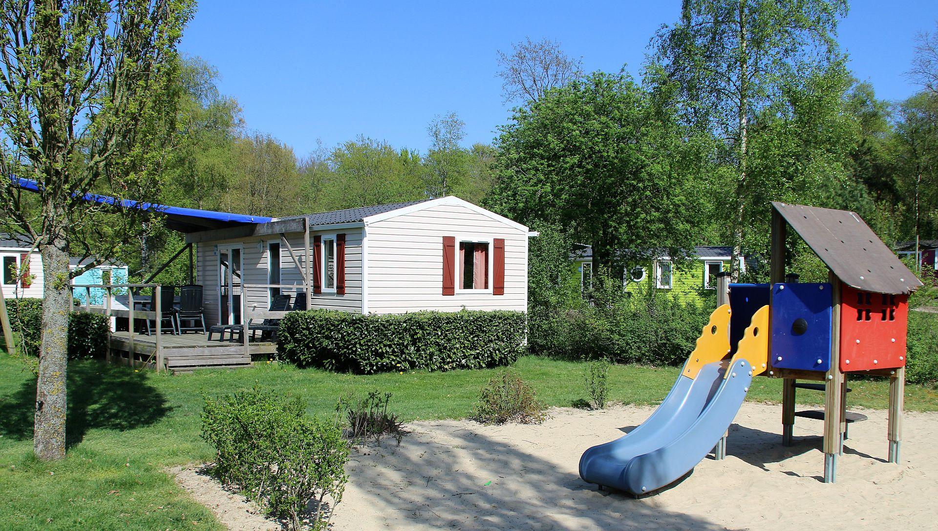 Herfstvakantie kamperen met overdekte voorzieningen - Herfstvakantie kamperen