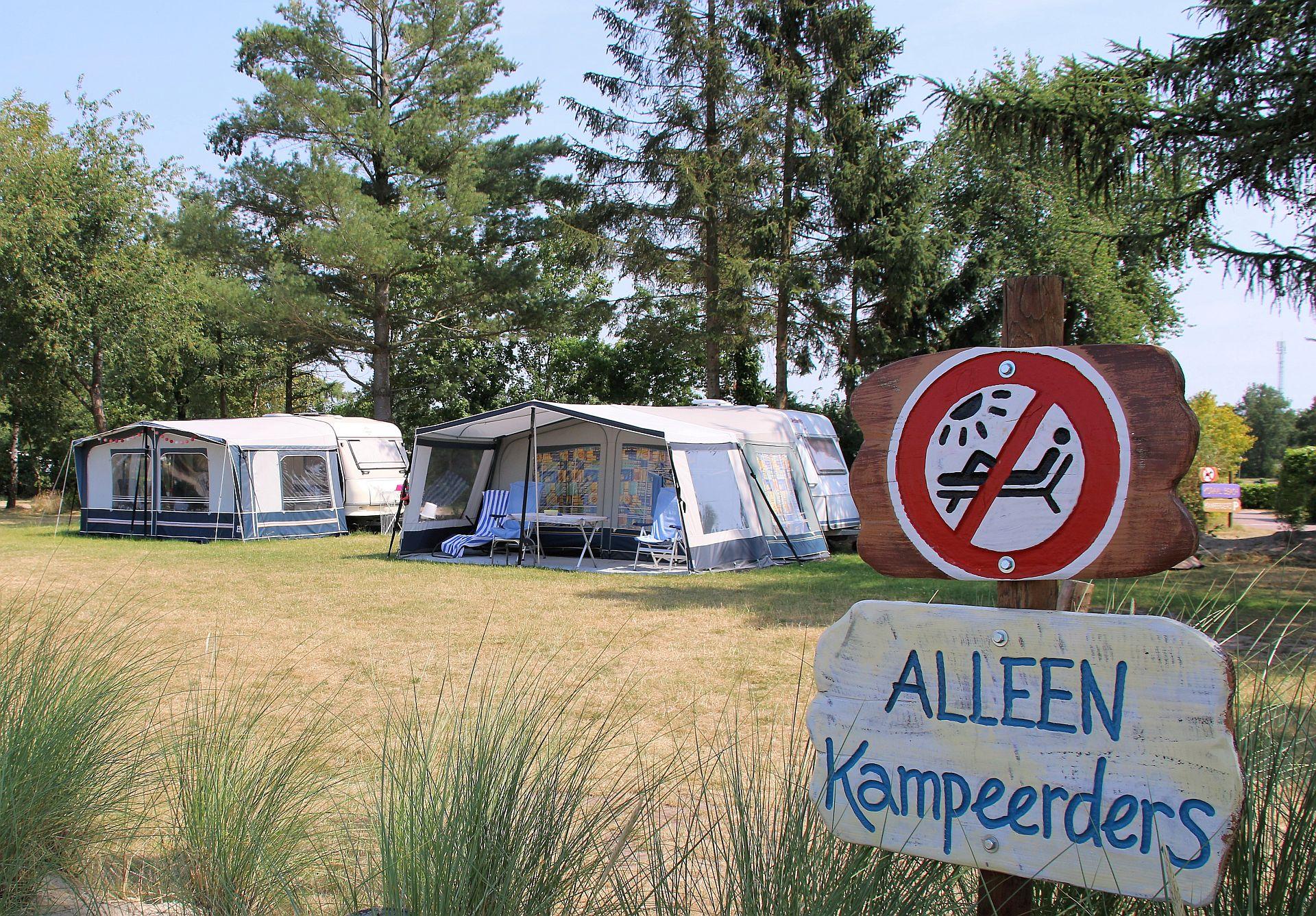 Kamperen in juli in Overijssel - Kamperen in juli in Overijssel Nederland