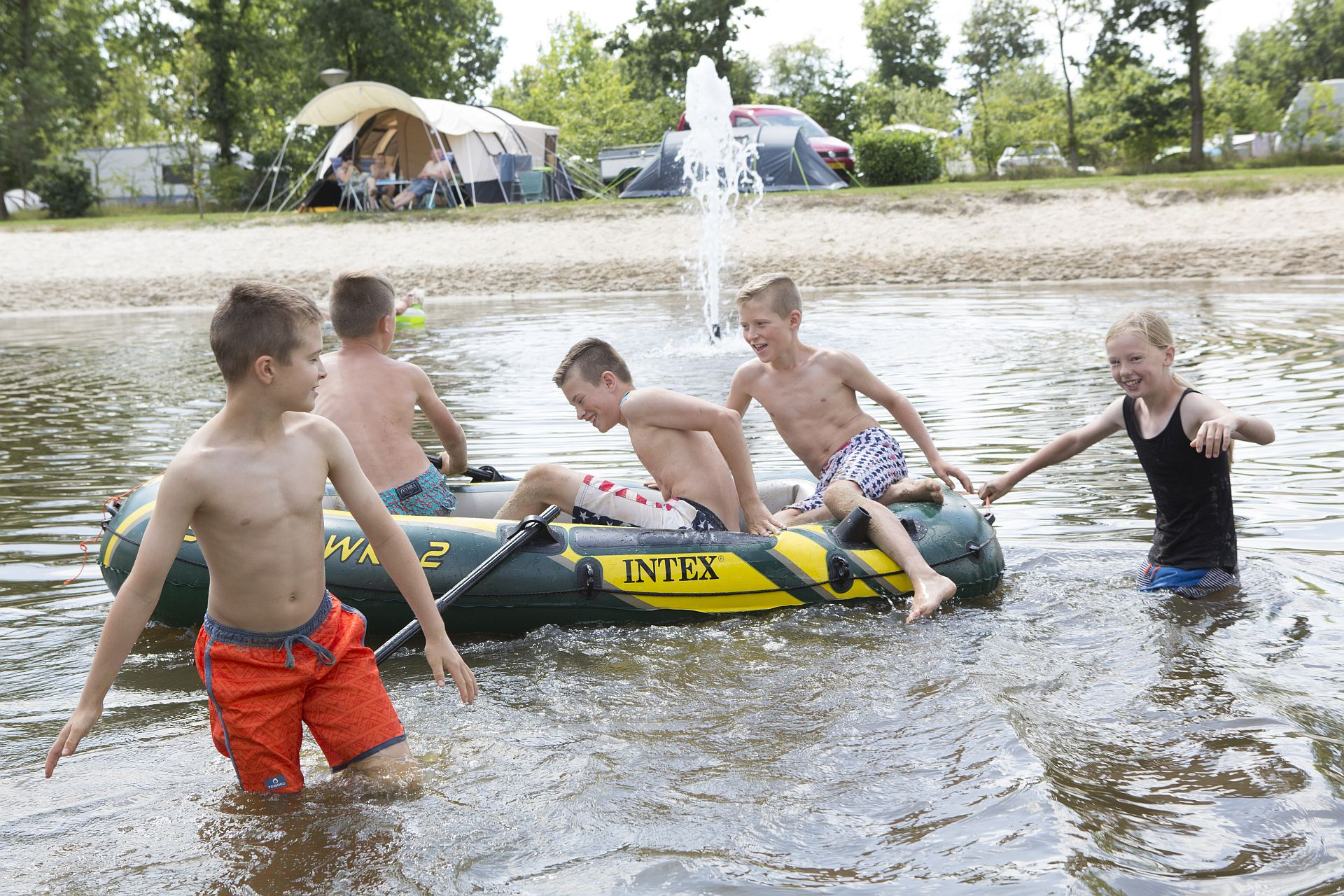 Kamperen op een tienercamping in Overijssel - kamperen op een tienercamping in Overijssel