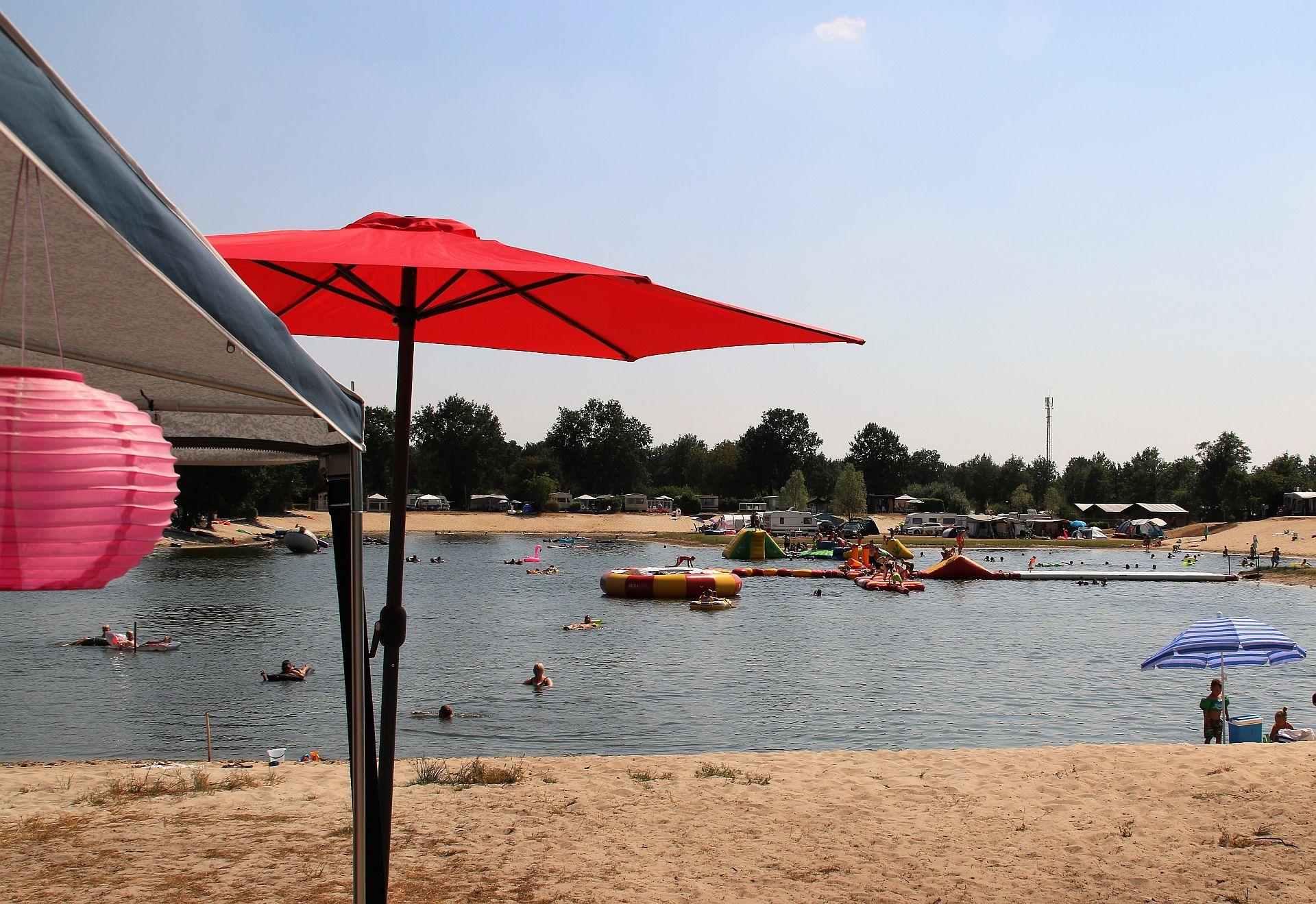 Kamperen aan het strand in de zomervakantie! - kamperen aan het strand in de zomervakantie