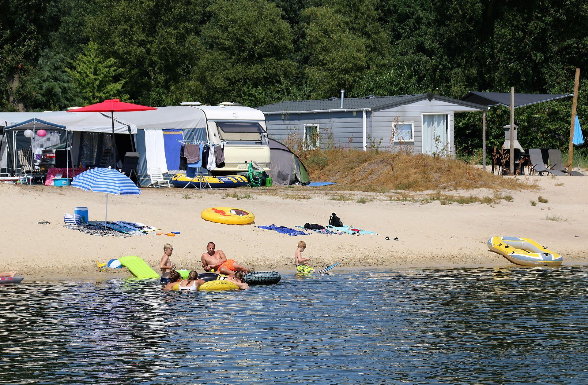 Strandbad in Overijssel bij het Stoetenslagh - strandbad in Overijssel